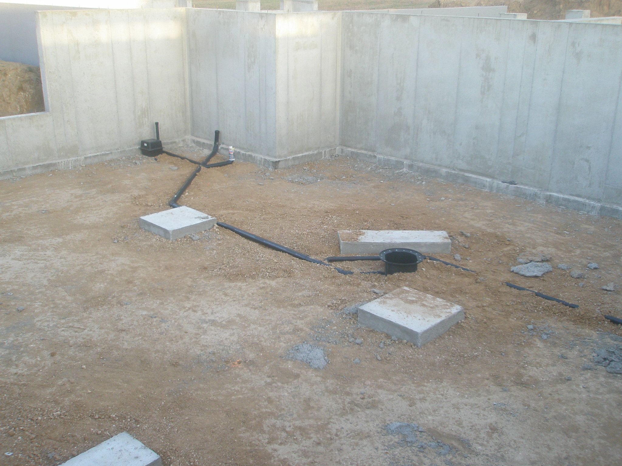 Adding a basement bathroom clearwater plumbers for Bathroom in basement without breaking concrete